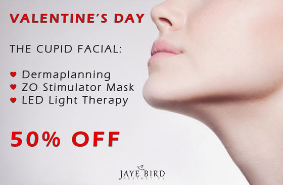 VALENTINE'S DAY - THE CUPID FACIAL 50% OFF!