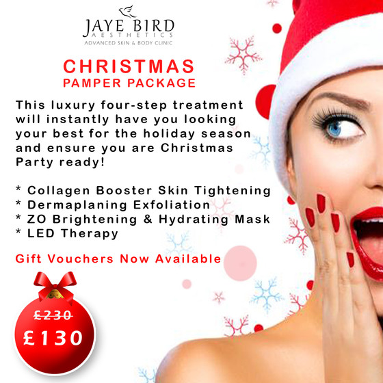 SAVE £100 - Christmas Pamper Package