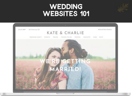 Wedding Websites 101