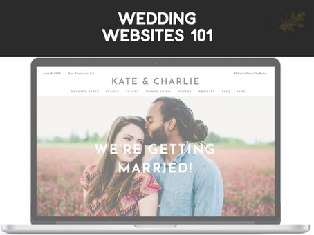 Wedding Websites 101