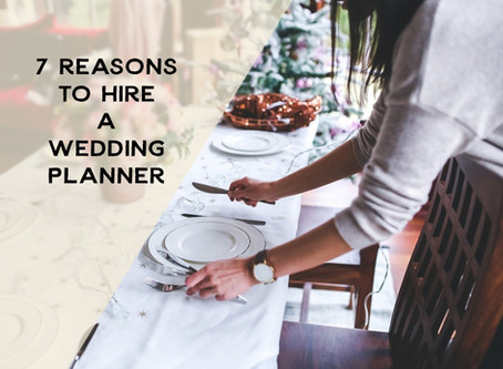 7 Reasons to Hire a Wedding Planner