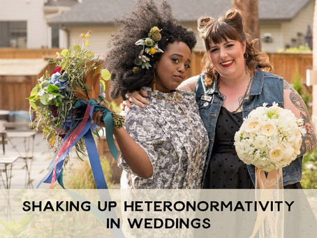 Shaking Up Heteronormativity in Weddings