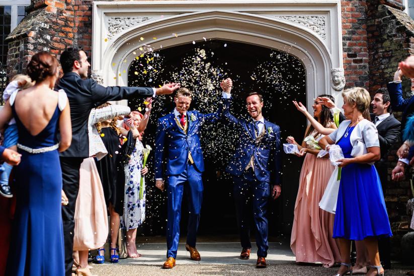 Semi-Formal Wedding Attire Suit Dress LGBT Gay