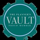 The Planner's Vault Member Badge