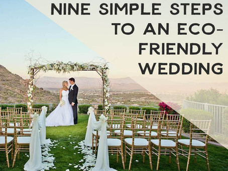 9 Simple Steps to an Eco-Friendly Wedding