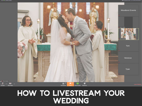 How to Livestream Your Wedding