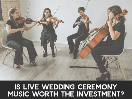 Is Live Wedding Ceremony Music Worth the Investment?
