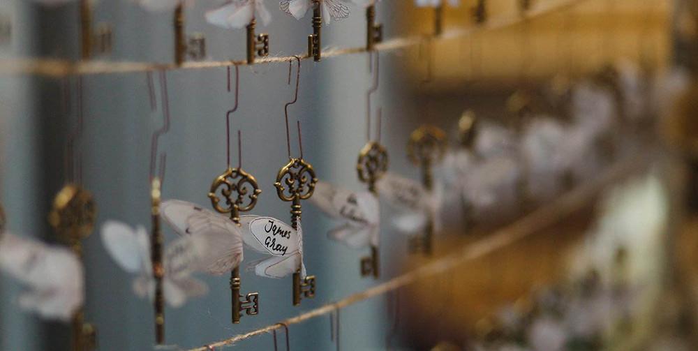 Harry Potter Wing Keys Escort Cards