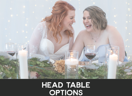 Choosing Your Head Table Style
