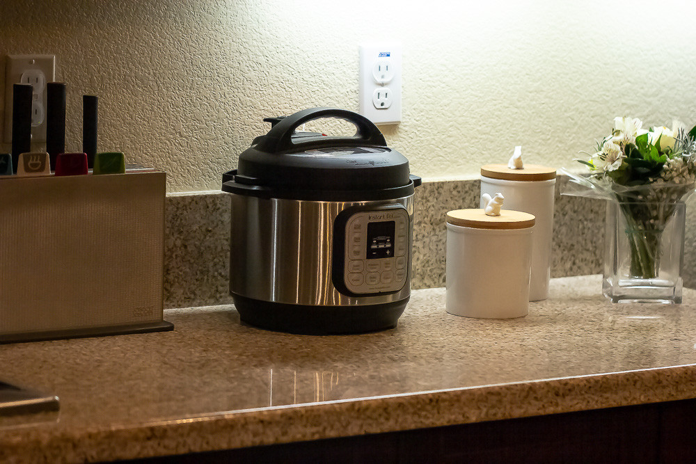Instant Pot on counter.
