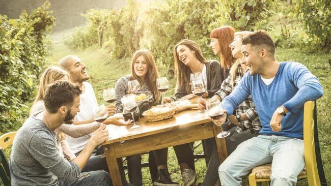 California Casual Wine Table