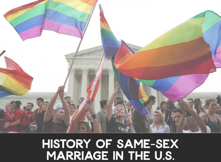 History of Same-Sex Marriage in the US