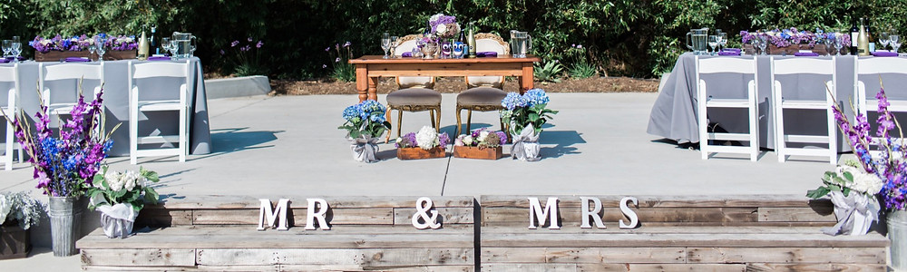 Outdoor Wedding Potted Plants Flowers