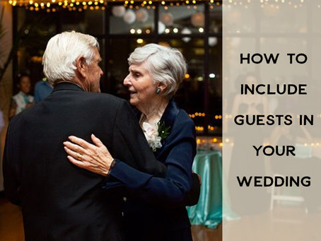 How to Include Guests in Your Wedding