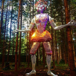 Shimmer Giant, made with Vision Mechanics for The Enchanted Forest 2017