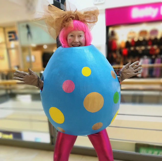 Easter Egg costume by Emily Martinelli
