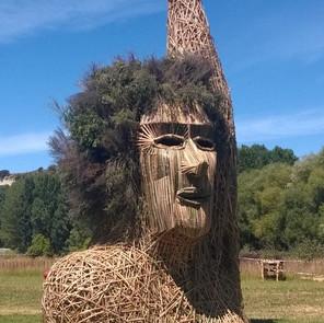 Effigy, built in collaboration with Effigy Burn Crew for Kiwiburn Arts Festival 2015