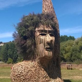 Effigy, built in collaboration with Effigy Burn Crew for Kiwiburn Arts Festival 2015
