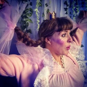 Sleeping Beauty costume by Emily Martinelli, Kelburn Castle Immersive Theatre 2017