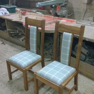Set of dining chairs, with Stick Factory Creative Projects 2016