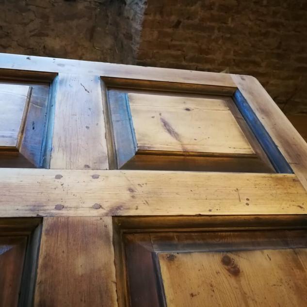 Georgian door restoration project, Drummohr House