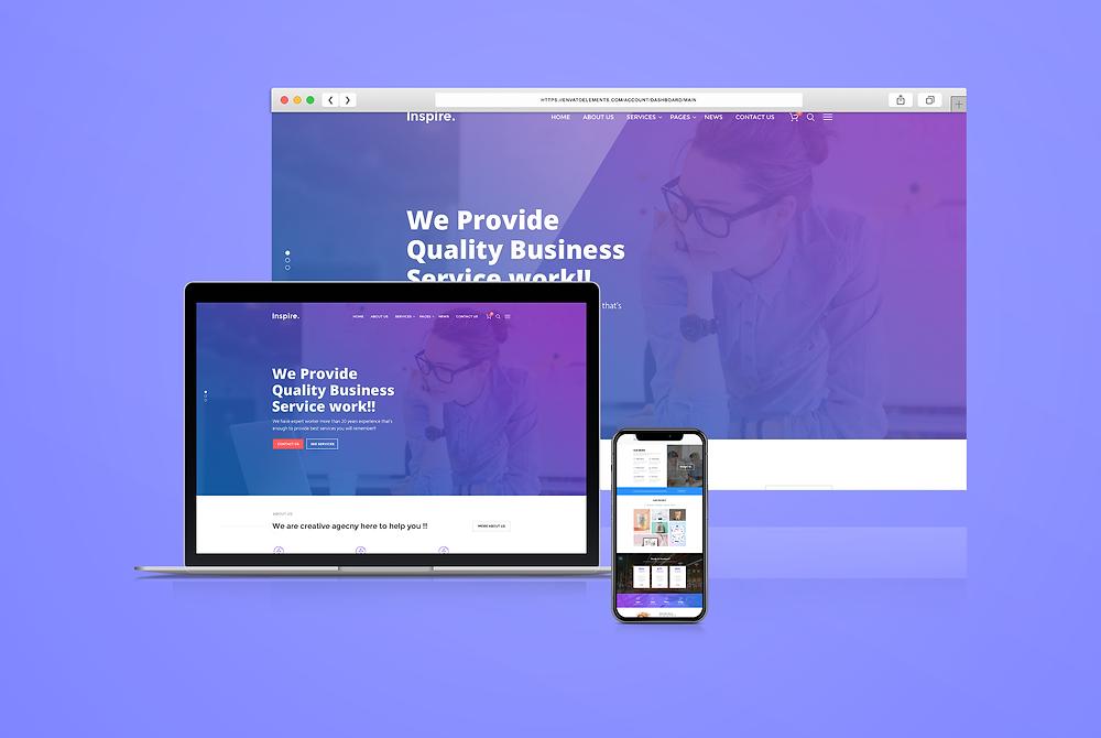 Website hero header Design 6