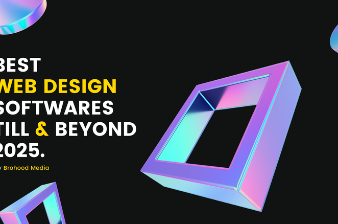 Best web design softwares till & beyond 2025