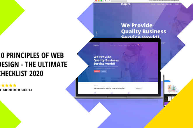 10 Principles of Web Design - The Ultimate checklist 2021