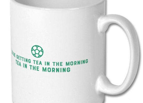Football Mug - Tea in the Morning