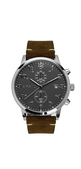 The Kiros - Grey in Vintage Brown