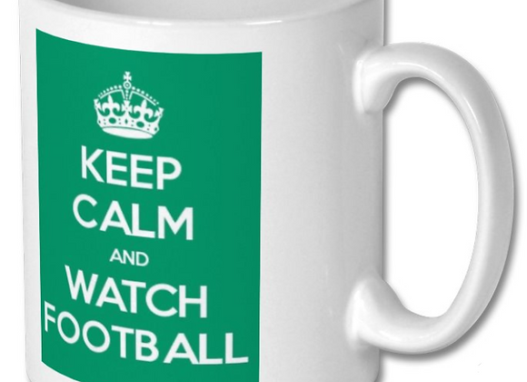 Keep Calm Football Mug
