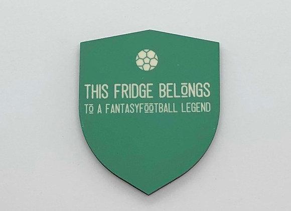 Fantasy Football Fridge Magnet