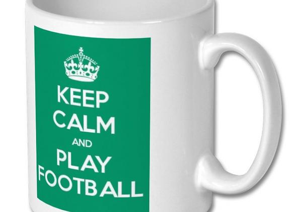 Keep Calm Football Mug