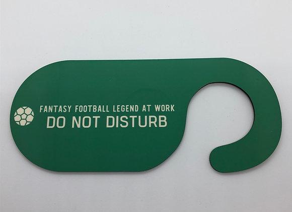 Fantasy Football Door Hanger