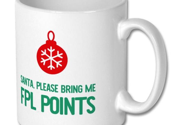 Fantasy Football Christmas Mug