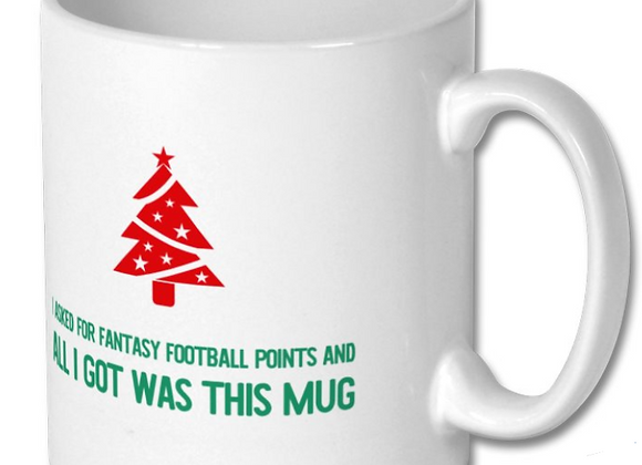 Fantasy Football Christmas Mug
