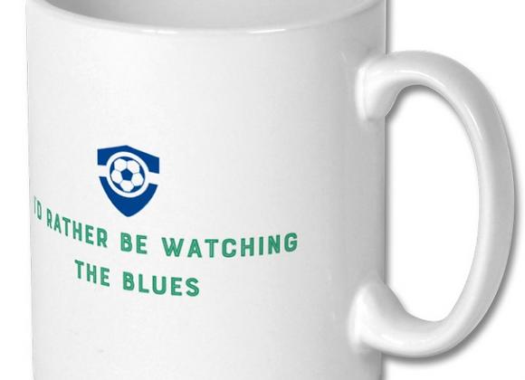 Football Mug - Blues