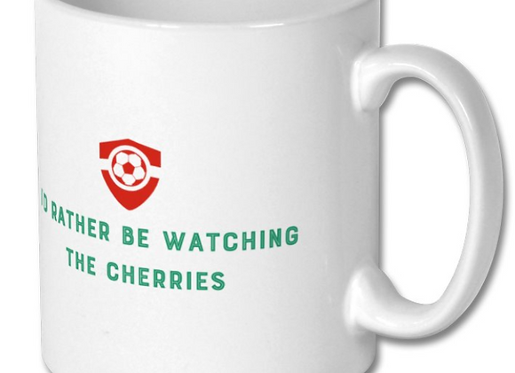 Football Mug - Cherries