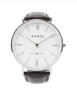 Mens minimalist watch