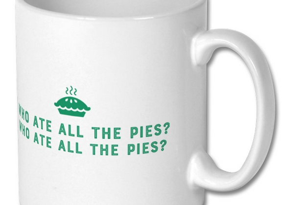 Football Mug - Who Ate All the Pies