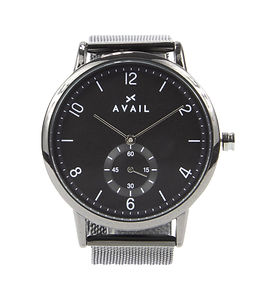 Mens Stainless Steel Watch