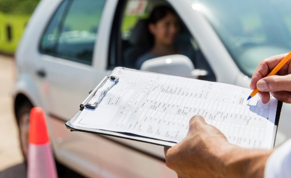 Key worker criteria for an emergency driving test