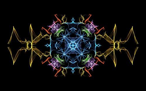 """Tapis de méditation """"Signature énergétique"""""""