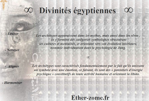 Divinités égyptiennes