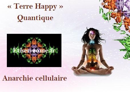 """Carte de méditation """"Anarchie cellulaire"""""""