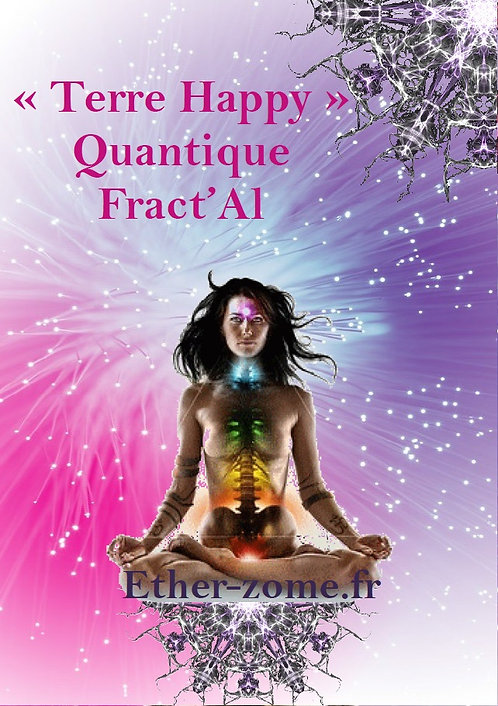 "Carte de méditation ""Chakra Couronne"""