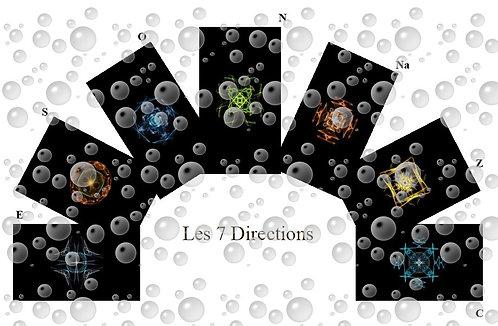 Cartes  les 7 Directions