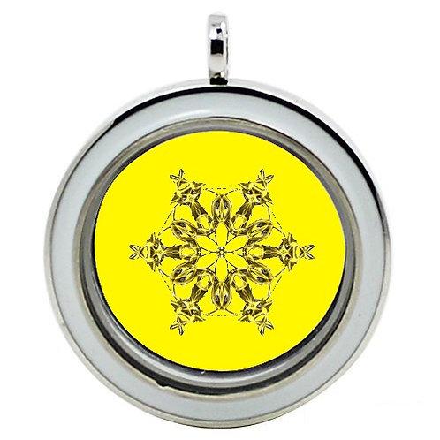 """Médaille """"Chakra Plexus Solaire"""""""