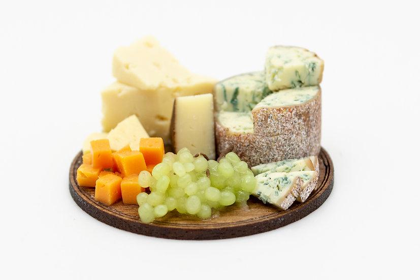 mixed cheese board