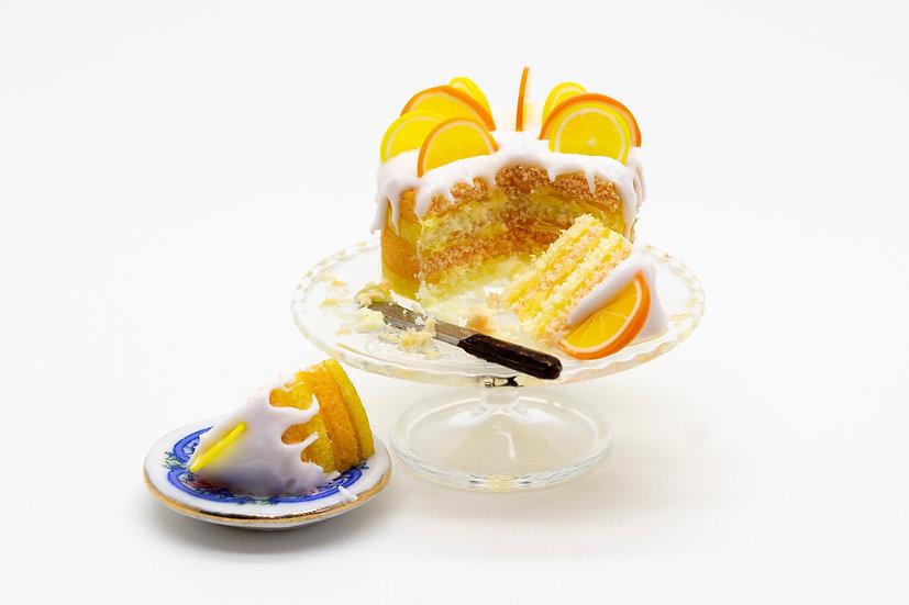 orange & lemon layer cake